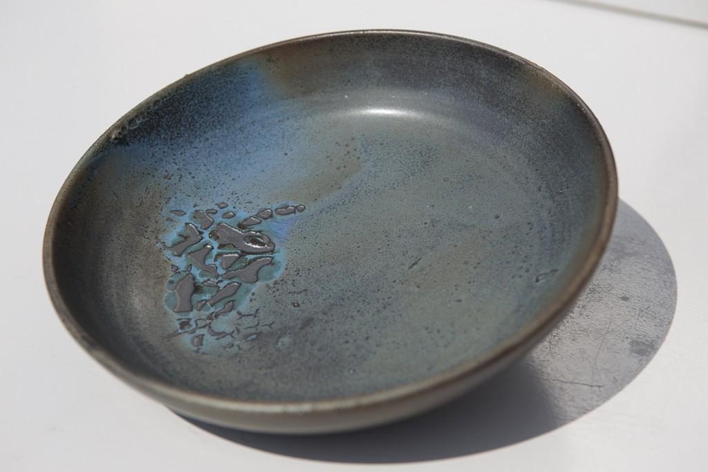 Assiette terenko, grès, poterie vannes