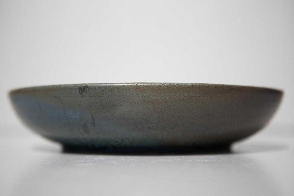 Assiette grès, poterie saint avé