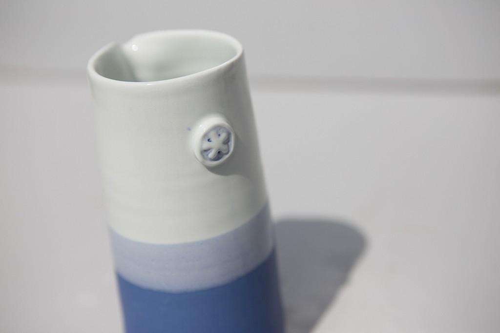 Pichet porcelaine, atelier terenko, morbihan