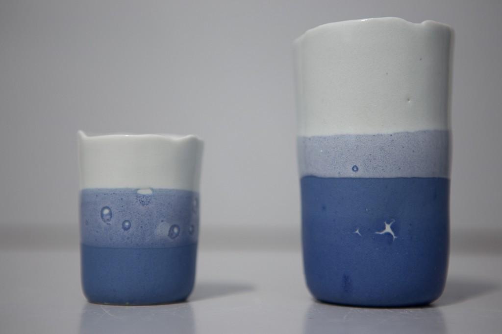 Tasse porcelaine, atelier poterie, vannes